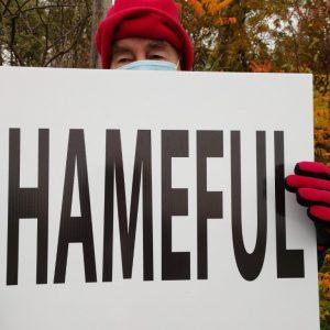 bcpa-drone-protest-hancock-airport-shameful